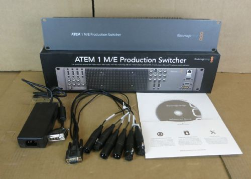 Blackmagic Design ATEM 1 M/E Professional Studio Production Switcher SWATEM1ME